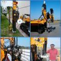 Установки сваебойные навесные Turchi 160 CA/ PF 720/ 830 JOULE