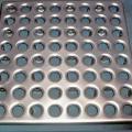 Металлический топпинг - плитка для промышленных полов