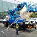 Новая Автовышка DASAN DS280L(28.4 метров) на базе Hyundai HD78 2014 г