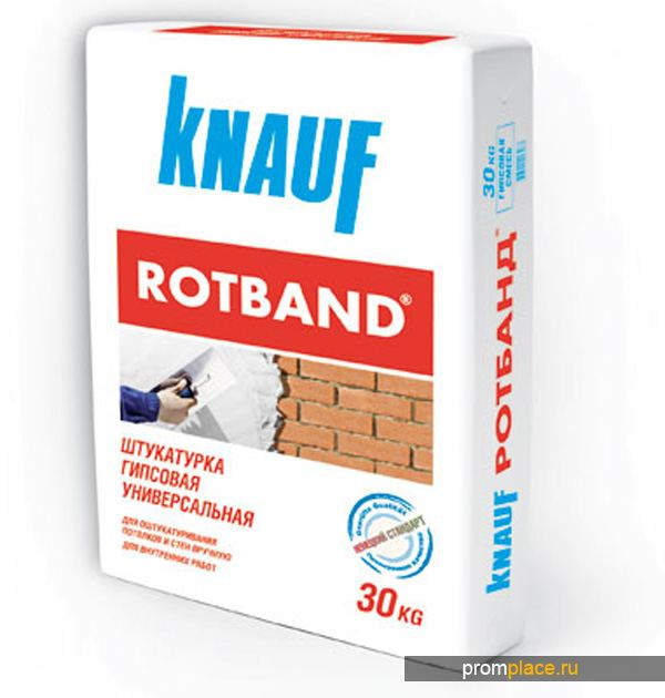 Сухая штукатурка Rotband