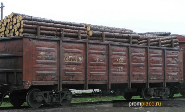 Вагоны для транспортировки леса