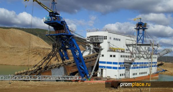 Промышленная добыча золота