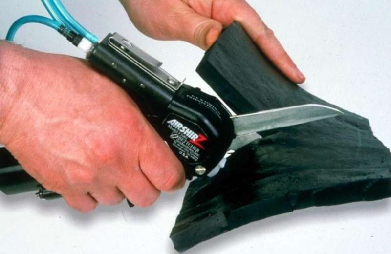 Чем разрезать транспортерную ленту