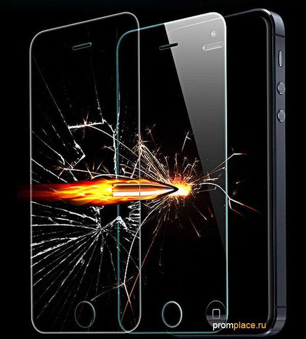 Защитное стекло смартфона
