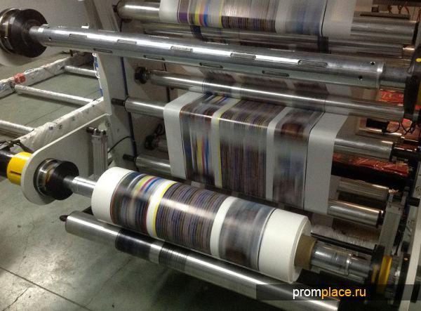 Флексографическое оборудорвание для нанесения изображения