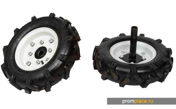 Пневматические колеса с камерой