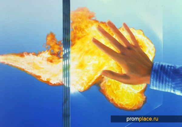 Устойчивое к пожарам стекло
