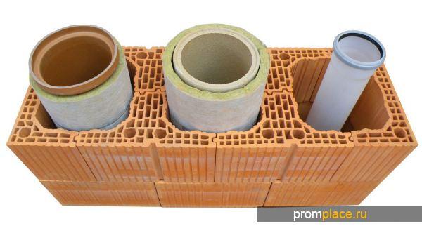 Дымоходные трубы из керамического материала