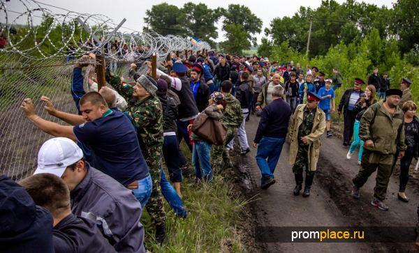 Митинг в Воронежской области