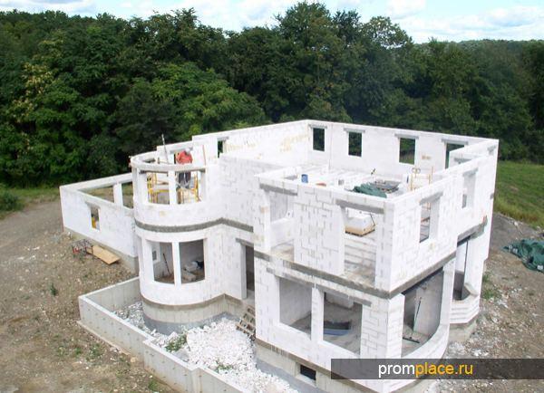 Строительство фундамента под дом из газобетонных блоков