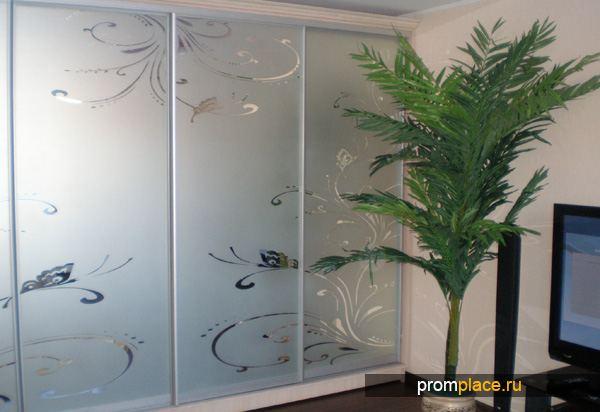 Матированное стекло