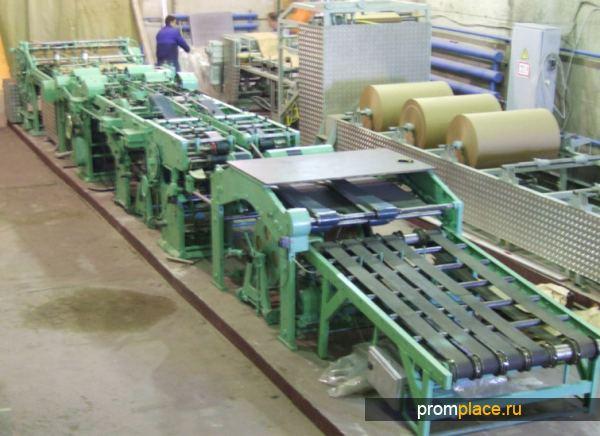 Оборудование для производства пакетов из бумаги