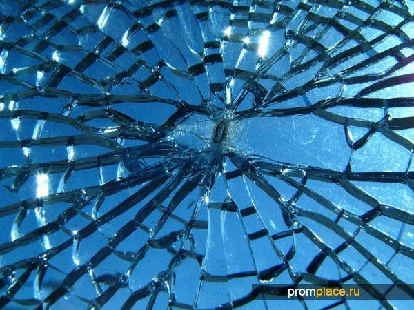 Преломление стекла