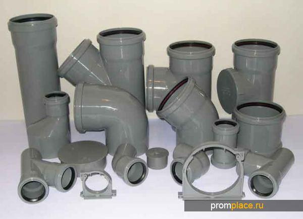 Фитинги под канализационные трубы