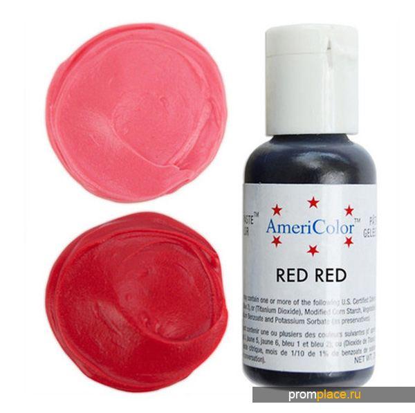 Краситель красного цвета