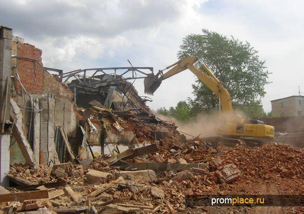 Работы по демонтажу старого фундамента