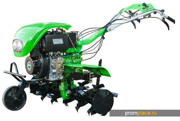 Мотоблок с дизельным двигателем