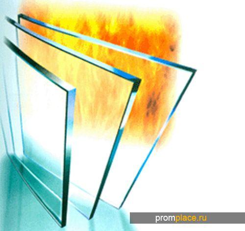 Стекло с огнеупорными свойствами