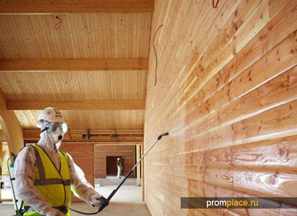Защита деревянных поверхностей от гниения