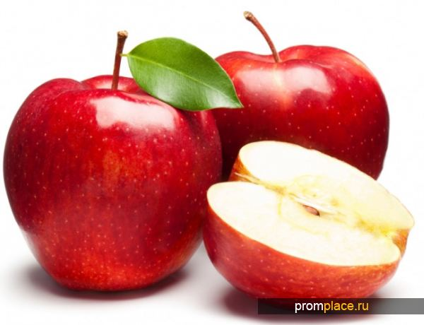 Большое содержание пектина в фруктах