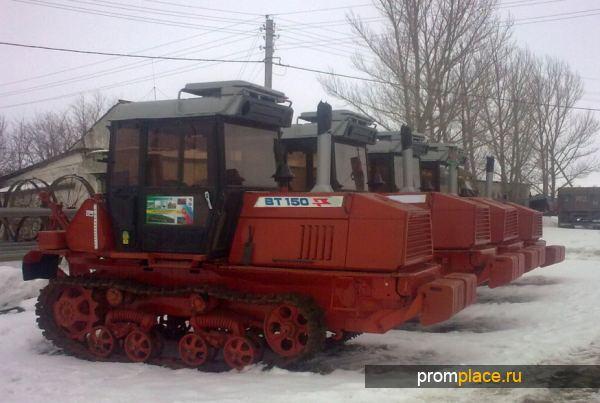 Гусеничный трактор ВТ модели 150