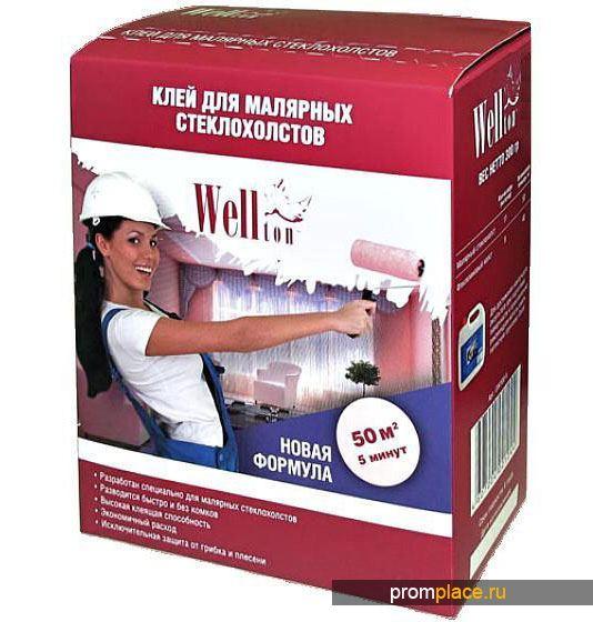Клей Веллтон для малярных стеклозолстов