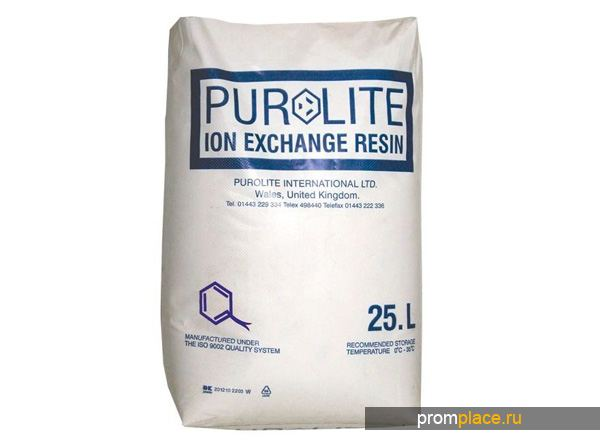 Упаковка смолы Purolite