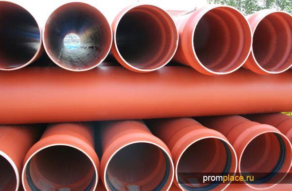 Трубы для безнапорных систем канализации