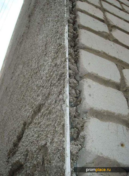 Теплая штукатурка на основе перлитового песка