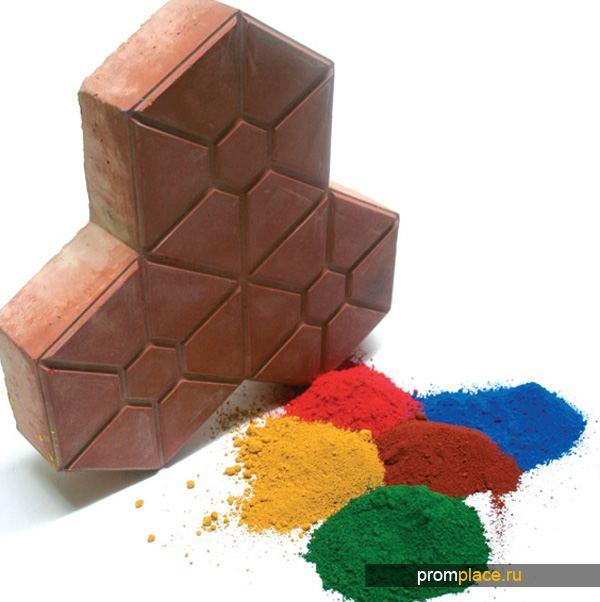Пигменты для бетона