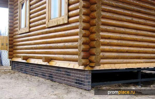 Фундамент с ростверком под деревянный дом