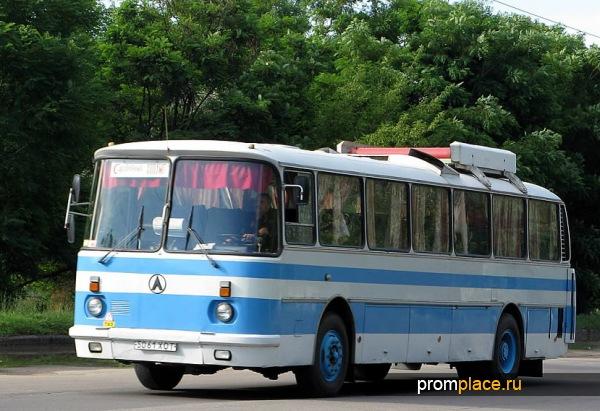 Автобус ЛАЗ 699Р на маршруте