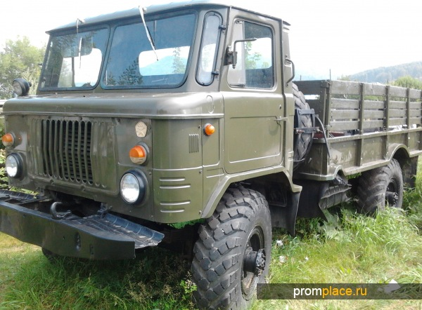 Бортовой ГАЗ 66