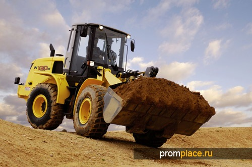 Экскаватор New Holland