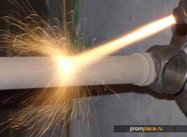 Установка для напыления металла