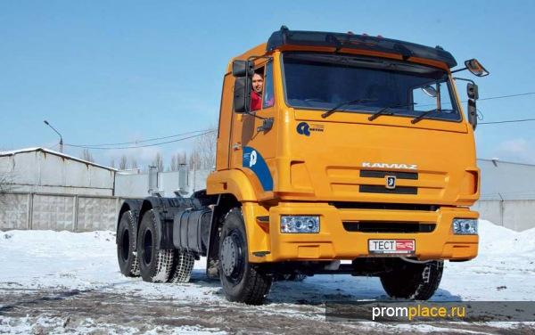 КАМАЗ 65116. Схема