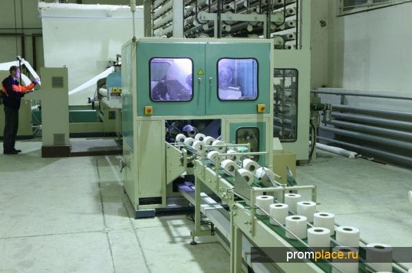 0борудование для производства туалетной бумаги: