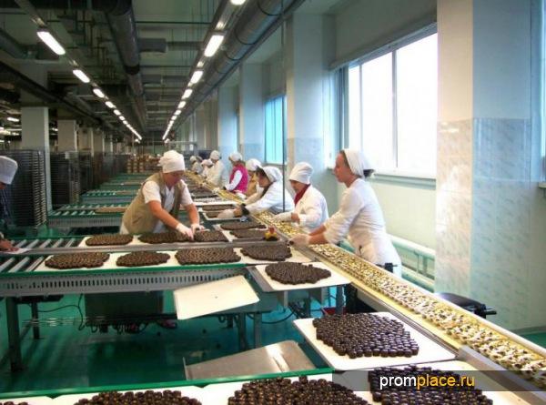 Линия производства шоколадных