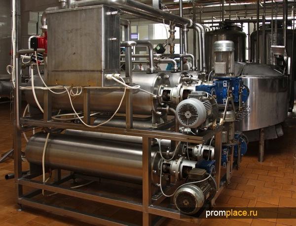 Линия производства сливочного масла