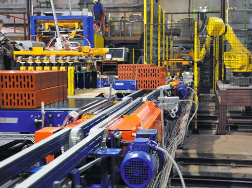 Оборудование кирпичного завода