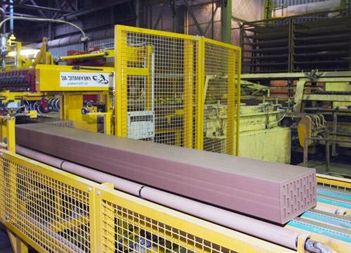 Оборудование кирпичного завода - линия формовки