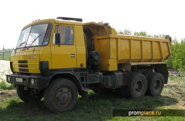 Популярный грузовик Татра