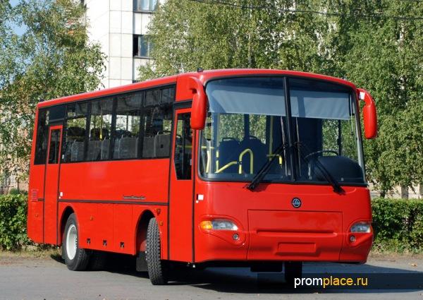 Пригородный автобус КаВЗ 4235