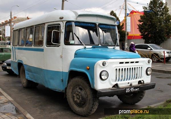 старый автобус фото