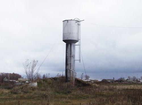 Кровля металлическая водонапорная башня