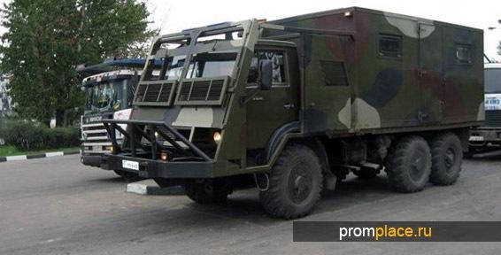 Военный КАМАЗ 4310