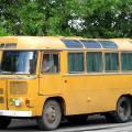 Обзор популярного советского автобуса ПАЗ 672