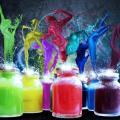 Характеристики и применение светоотражающих красок